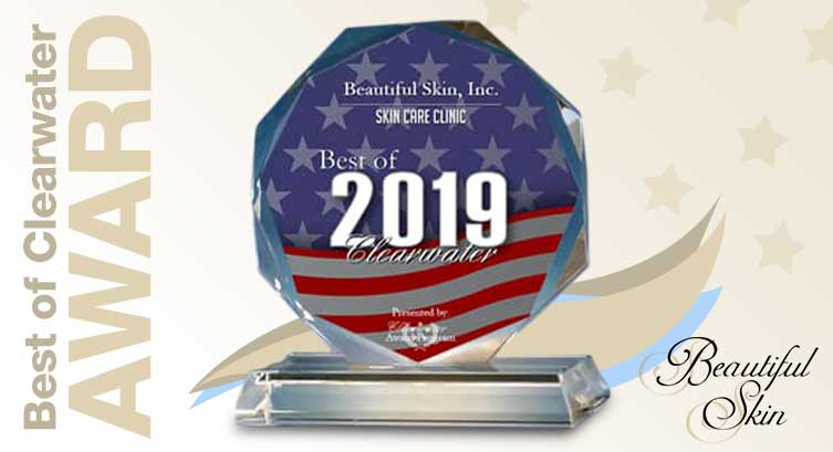 Beautiful Skin, Inc. Wins the 2019 Best of Clearwater Award